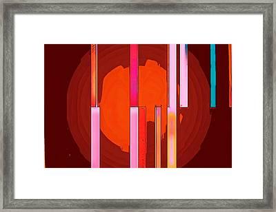 Arrows In My Heart Framed Print