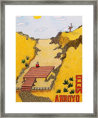 Arroyo Seco Framed Print