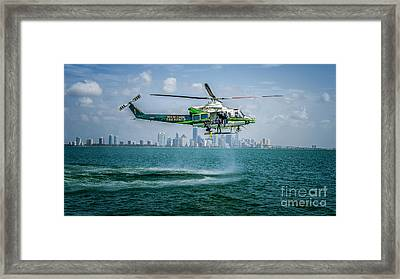 Ars And Miami Framed Print by Scott Mullin