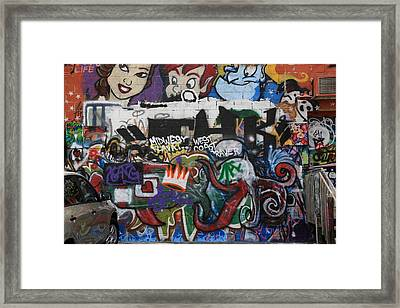 Art Alley 4 Framed Print
