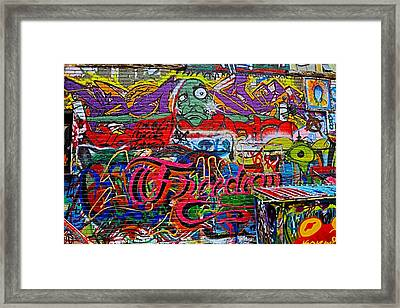Art Alley Two Framed Print