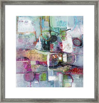 Art And Music Framed Print by Michelle Abrams