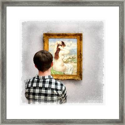 Art Appreciation Framed Print