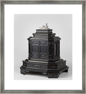 Art Cabinet, Anonymous, Jeremias Michael Framed Print by Quint Lox