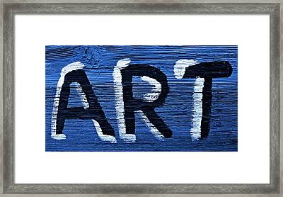 ART Framed Print by Chris Berry
