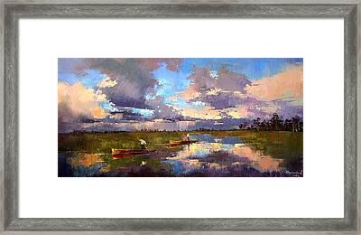 Art Clouds Framed Print by Anastasija Kraineva