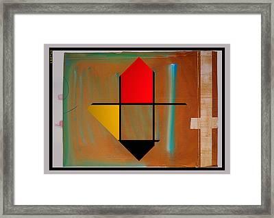 Art Collage Framed Print by Charles Stuart