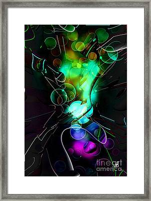 Art Colordream By Nico Bielow Framed Print