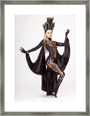 Art Deco Angelica Framed Print by David April