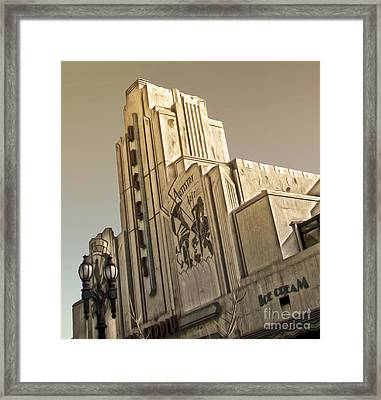 Art Deco Building Framed Print by Gregory Dyer