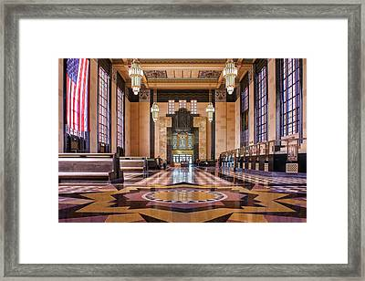 Art Deco Great Hall #2 Framed Print