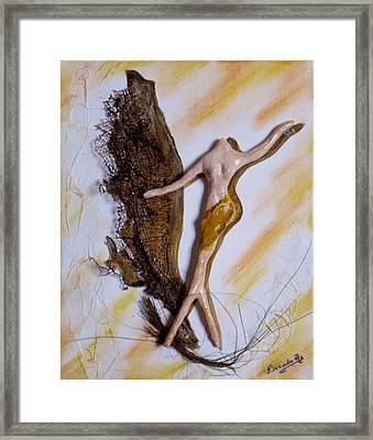 Art Deco I Framed Print by Brenda Almeida-Schwaar