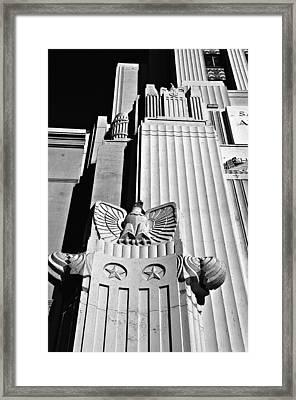 Art Deco Framed Print by Larry Butterworth