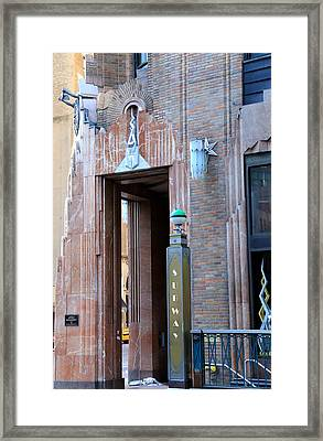 Art Deco New York 1 Framed Print by Andrew Fare