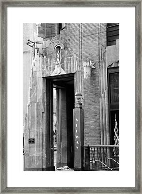 Art Deco New York 1b Framed Print by Andrew Fare