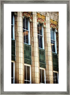 Art Deco On King Street Framed Print by John Rizzuto