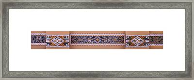 Art Deco Trim #1 Framed Print by Nikolyn McDonald