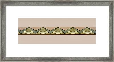 Art Deco Trim #2 Framed Print by Nikolyn McDonald