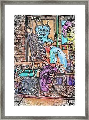 Art Demo Framed Print by John Haldane