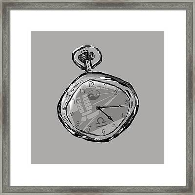 The Watch Framed Print by Andrew Morican