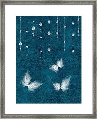 Art En Blanc - S03a Framed Print by Variance Collections