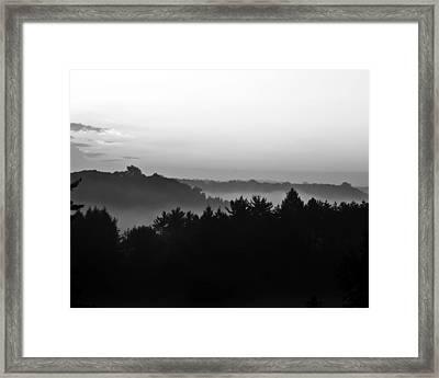 Foggy Day Framed Print by Tim Buisman