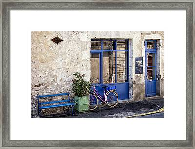 Art Gallery In Eymet Framed Print