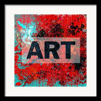 Vector Art Framed Prints