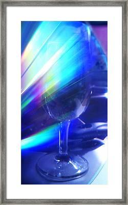 Art Glass Framed Print by Martin Howard