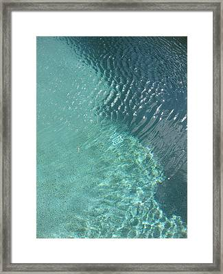 Art Homage David Hockney Swimming Pool Arizona City Arizona 2005 Framed Print by David Lee Guss
