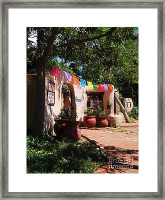 Art In Albuquerque 2 Framed Print by Mel Steinhauer