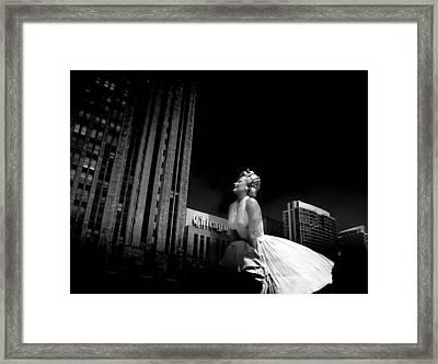 Art In Chicago Framed Print