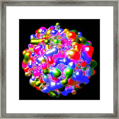 Art In Coalescence... Framed Print by Tim Fillingim