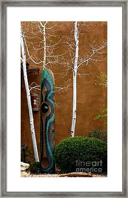 Art In Nature Framed Print by Claudette Bujold-Poirier