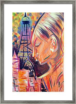 Art In The City Framed Print