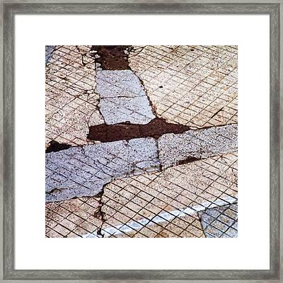 Art In The Street 2 Framed Print by Carol Leigh