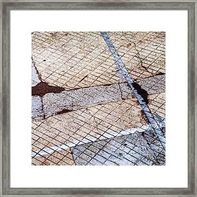 Art In The Street 3 Framed Print by Carol Leigh
