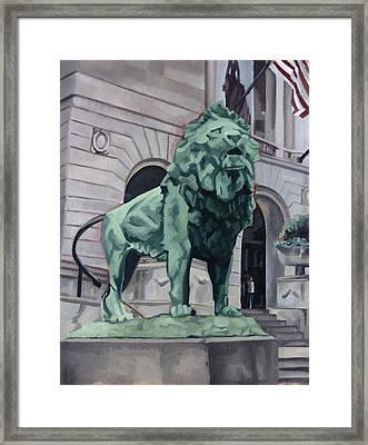 Art Institute Of Chicago Framed Print