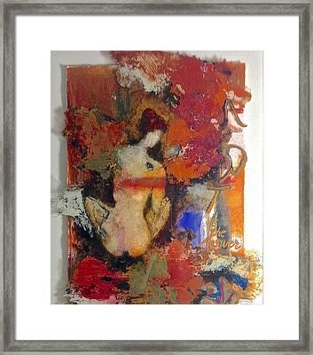 Art Is The Answer Framed Print by Delona Seserman