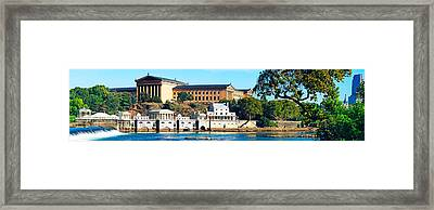 Art Museum At The Waterfront Framed Print