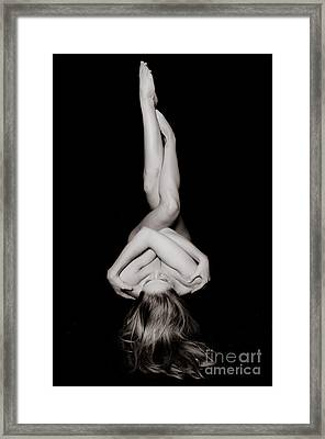 Art Of A Woman Framed Print by Jt PhotoDesign