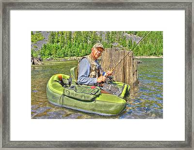 Art Of Fly Fishing Framed Print by Arthur Fix