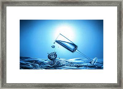 Art Of Glass Framed Print