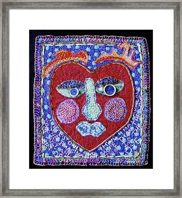 Art Of Love Framed Print by Susan Sorrell