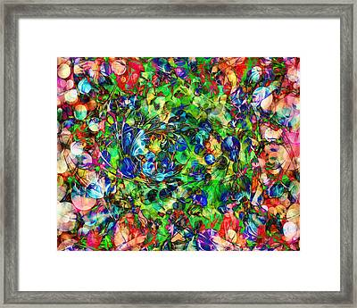 Art Of Nature - Abstract Framed Print