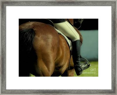 Art Of The Horse Framed Print by Bob Christopher