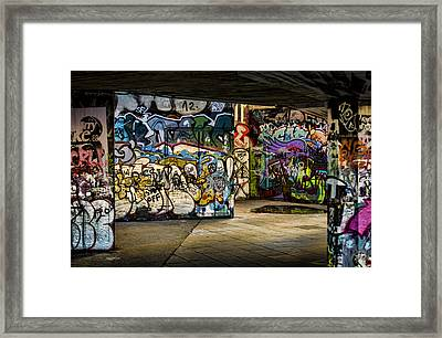 Art Of The Underground Framed Print by Heather Applegate