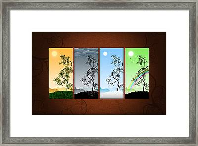 Art On The Wall Framed Print by Gianfranco Weiss