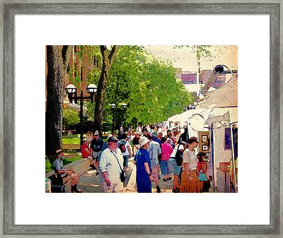 Art Patrons Framed Print