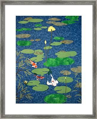 Art Thou Coy Framed Print by Anita Jacques